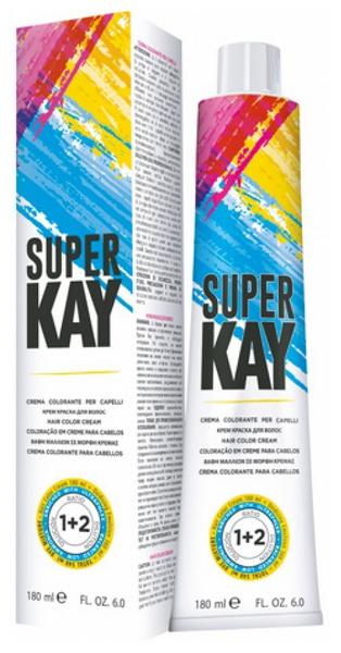 Краска для волос Kaypro Super Kay 6,66 Темно-русый красный интенсивный 180 мл