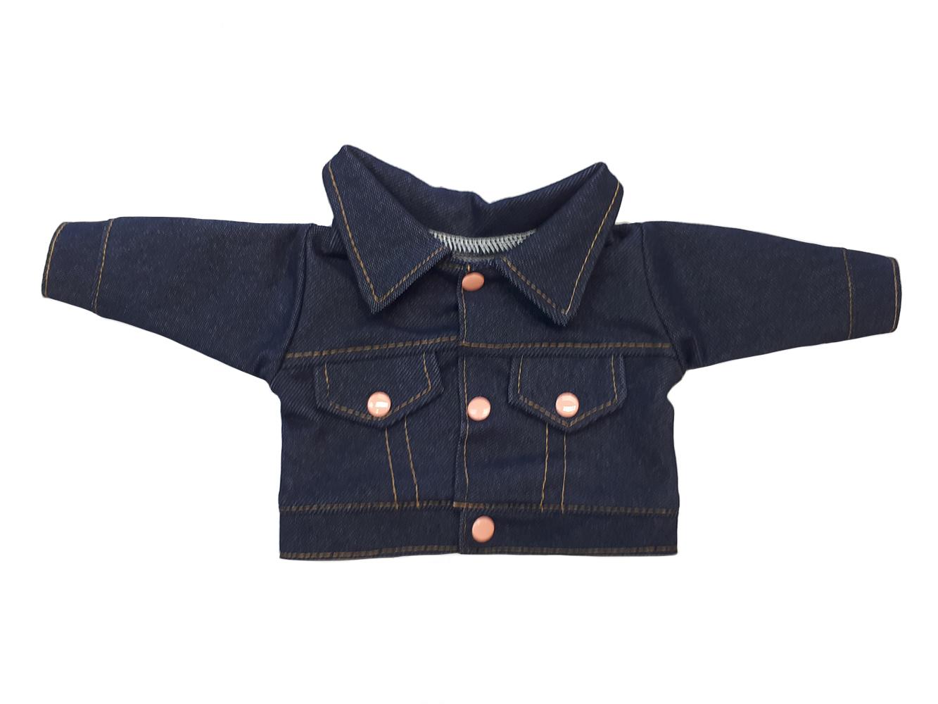 Набор одежды для кукол КоЛибри Курточка джинсовая Колибри 85 Синий фото