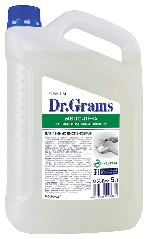Жидкое мыло-пена Dr.Grams Свежесть антибактериальное 5 л