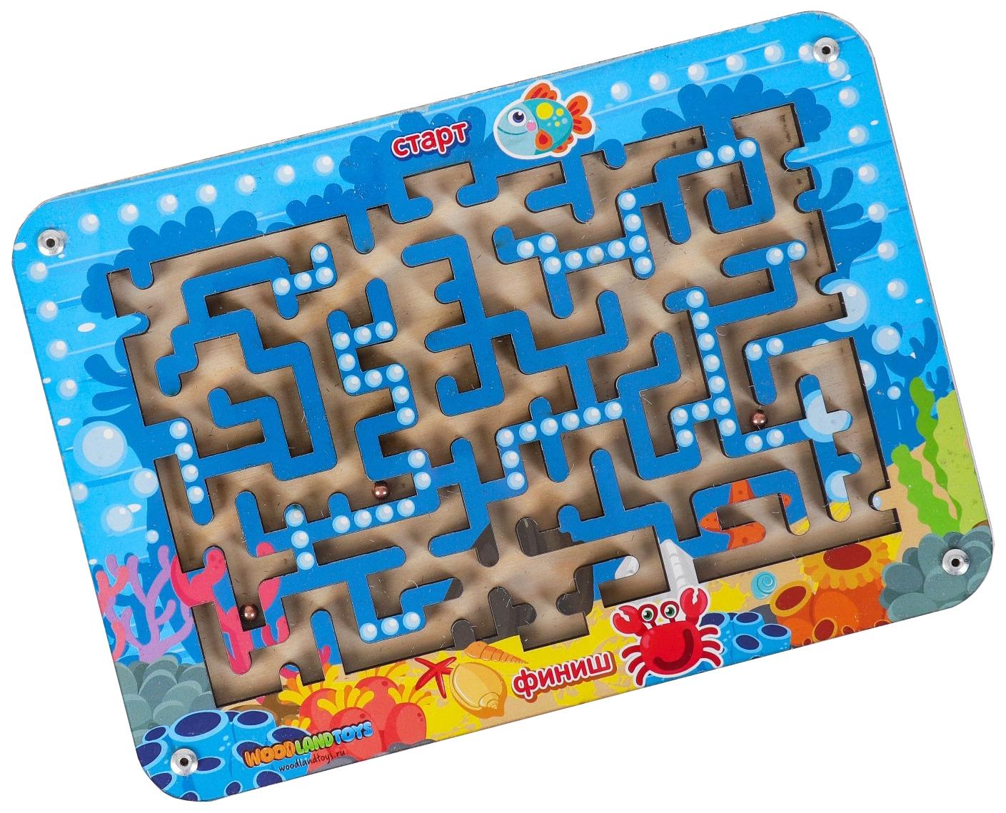 Купить Лабиринт маленький 1 (018101) Woodland (Сибирский сувенир), Игрушки головоломки