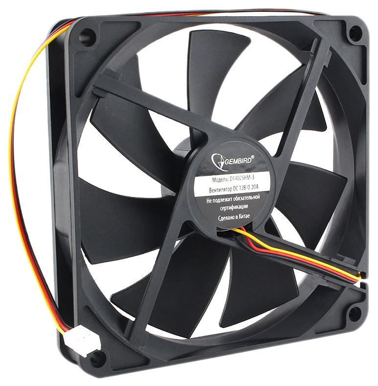 Корпусной вентилятор Gembird D14025HM 3