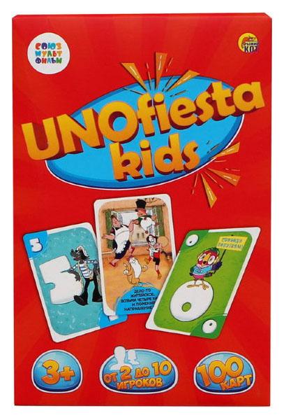 Купить Настольная игра. УНИОФИЕСТА КИДС (UNOfiesta kids) Союзмультфильм, Рыжий кот, Семейные настольные игры