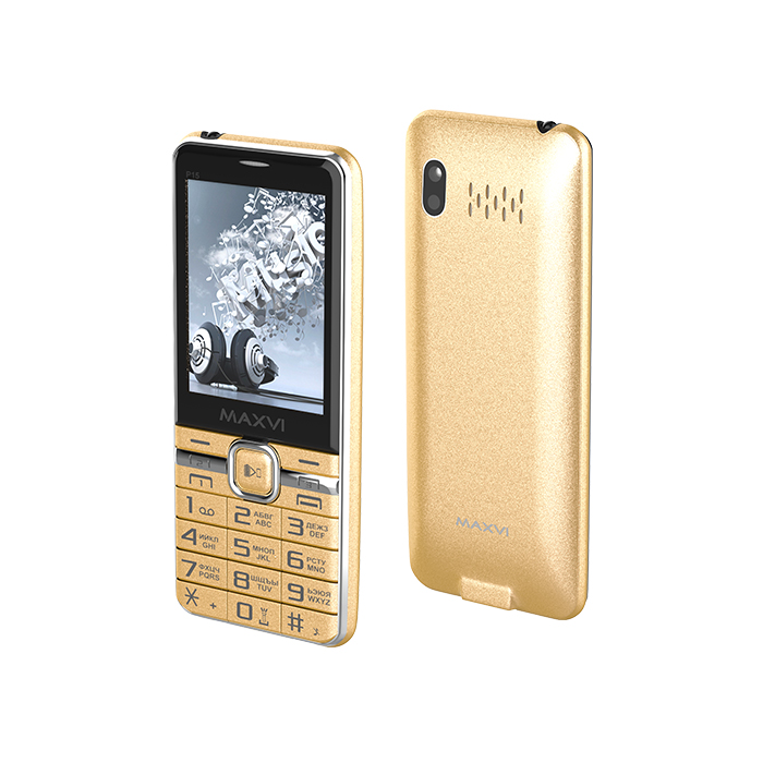Мобильный телефон Maxvi P15 Gold