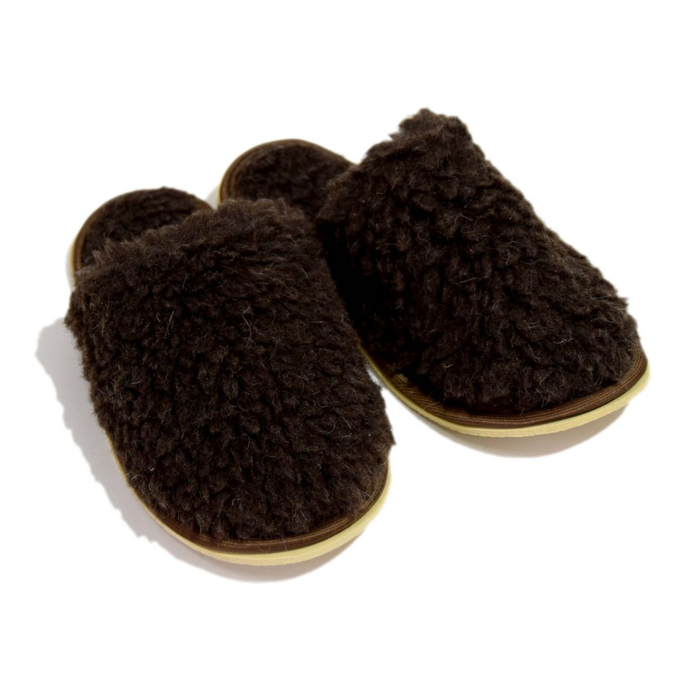 Домашние тапочки мужские Smart-Textile Домашнее тепло коричневые 44-45 RU
