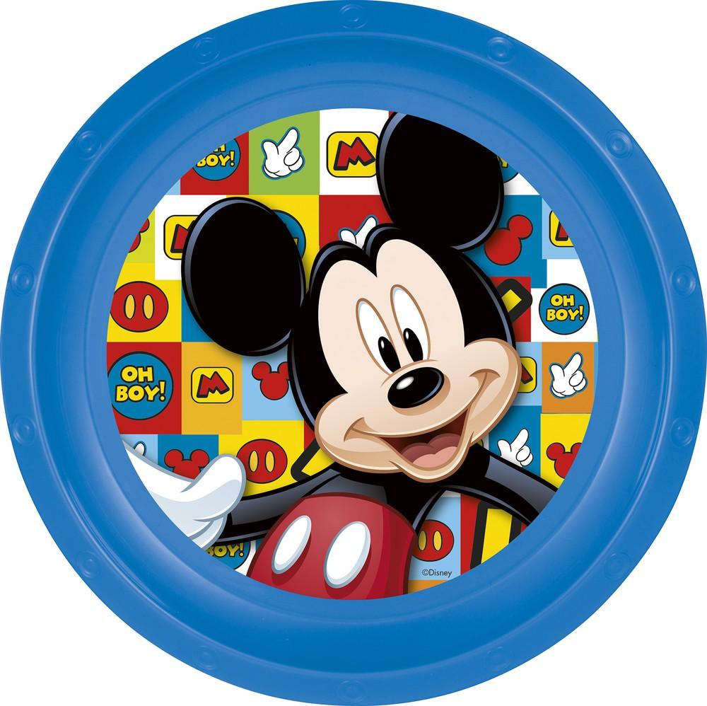 Тарелка пластиковая Микки Маус Символы фото