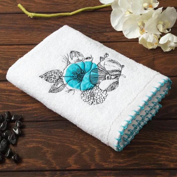 Allegro Кухонное полотенце Malva Цвет: Синий (50х70 см)