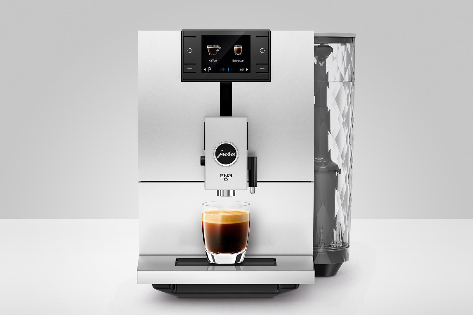 Кофемашина автоматическая Jura ENA 8 Nordic White