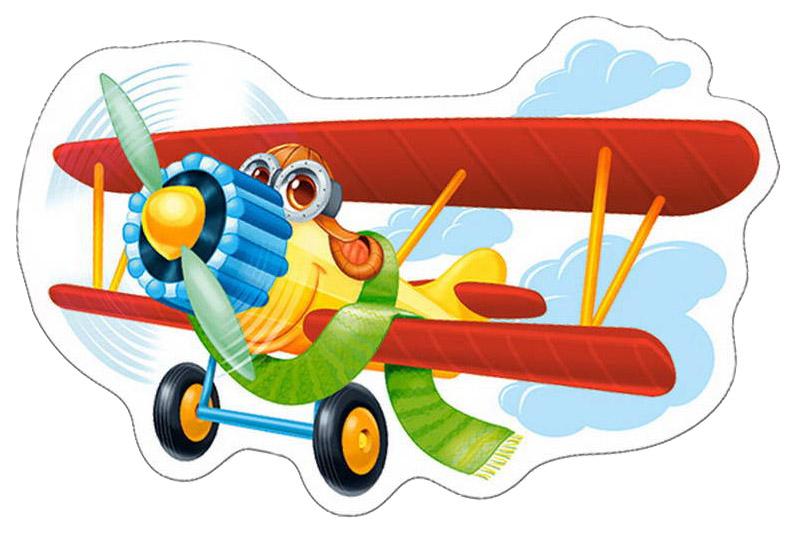 Купить Пазл Castorland Забавный самолет В-015092 15 элементов, Пазлы
