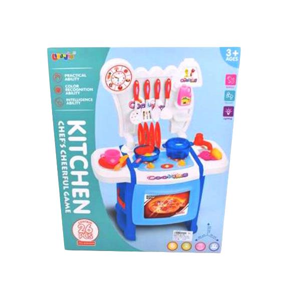 Купить Кухня детская Наша игрушка CK11500 26 предметов, Детская кухня