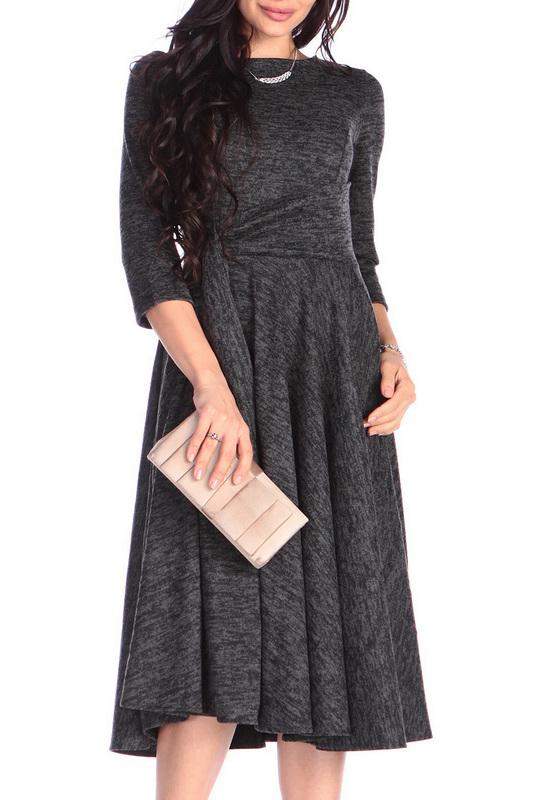 Платье женское Rebecca Tatti RR1129_1.1AN черное S