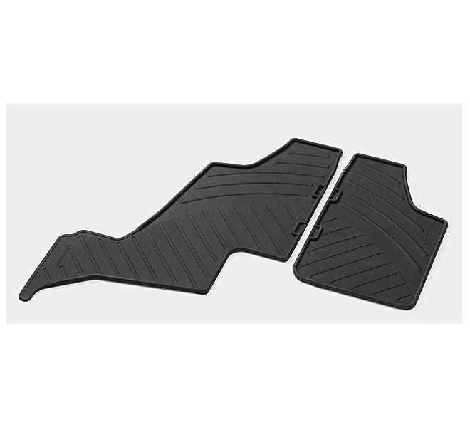 Резиновые Коврики черн.3-го ряда сидений(сидений 4 2) MERCEDES-BENZ арт. B66680246 28 фото