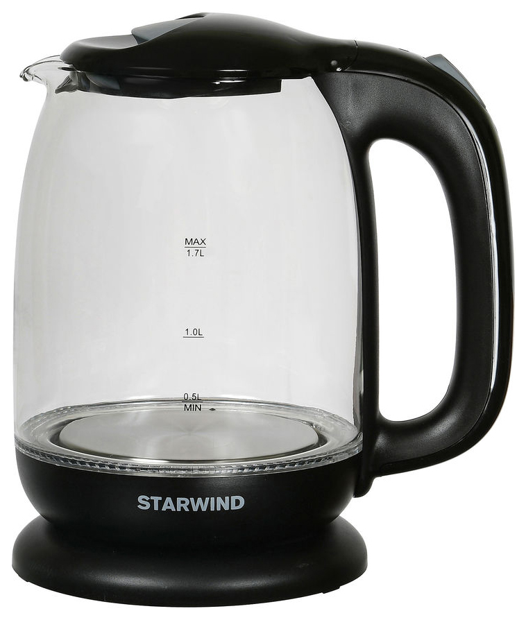 Чайник электрический Starwind SKG1210 Black