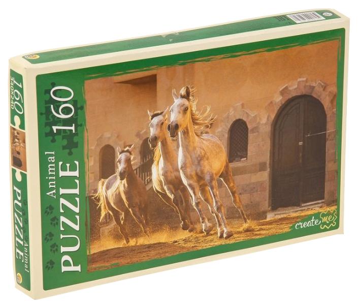 Купить Пазл Рыжий кот Лошади в движении КБ160-4032, Пазлы