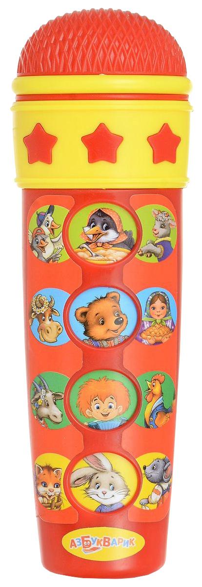 Купить Интерактивная игрушка Азбукварик Караоке Для малышей 28062-2/08118-2 красный, Интерактивные мягкие игрушки