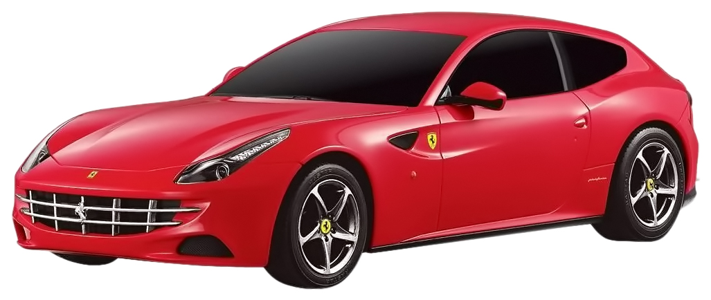 Купить Радиоуправляемая машинка Rastar Ferrari FF 1:24 красная, Радиоуправляемые машинки