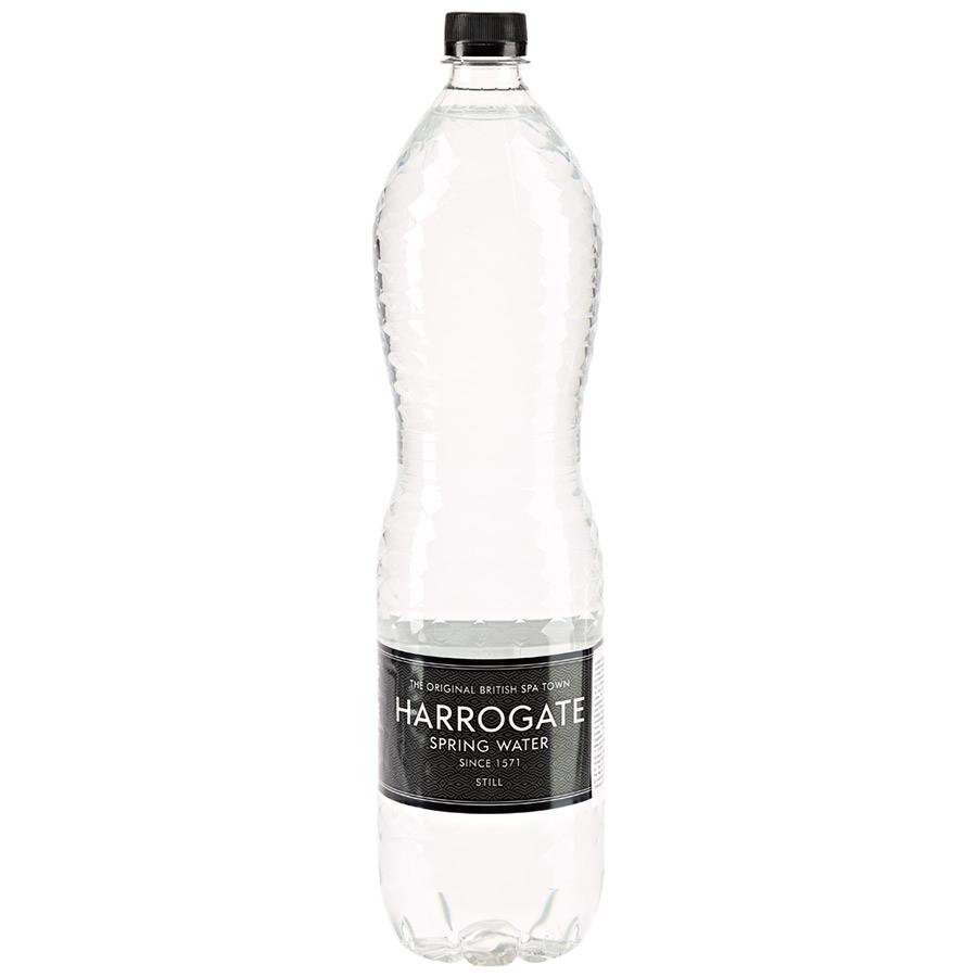 Вода Harrogate минеральная питьевая природная негазированная пластик 1.5 л фото