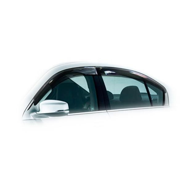 Дефлекторы на окна CA Plastic для Honda Accord 2013–н.в. полупрозрачный