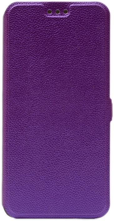 Чехол GOSSO CASES Book Type UltraSlim для Samsung Galaxy J8 (2018) фиолетовый