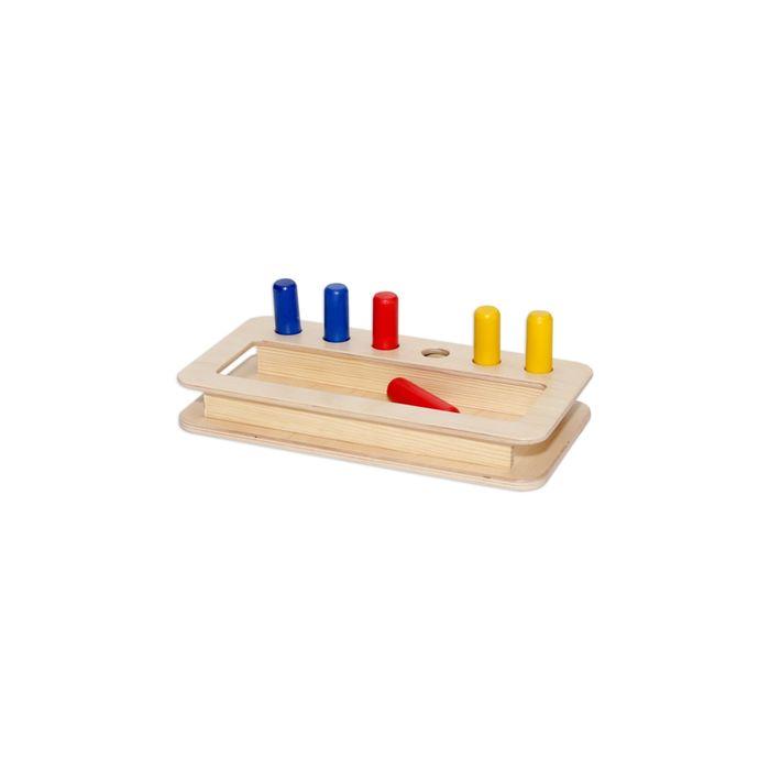 Купить Игрушки, Деревянный конструктор Paremo 85 деталей неокрашенный в пакете, Деревянные конструкторы