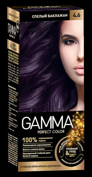 Купить Краска для волос SVOBODA GAMMA Perfect color спелый баклажан 4, 6, 50гр