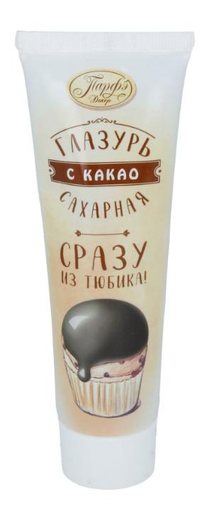 Помадка Парфэ Декор сахарная с какао туба 120 г