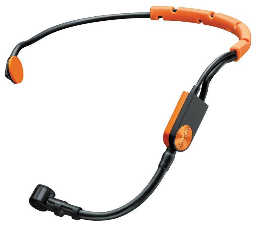 Микрофон Shure SM31FH-TQG для радиосистем с разъемом TA4F Оранжевый
