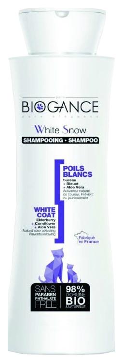 Шампунь для кошек BIOGANCE White Snow