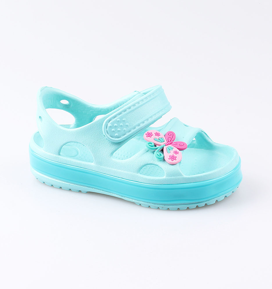 Купить Пляжная обувь Котофей 325089-02 для девочек р.28, Шлепанцы и сланцы детские