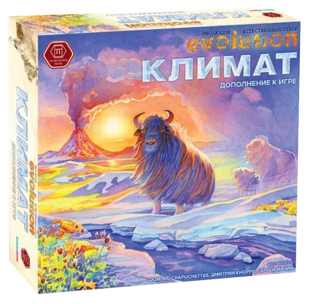 Купить Научно-популярная настольная игра Правильные игры Эволюция Климат Evolution дополнение, Правильные Игры, Семейные настольные игры