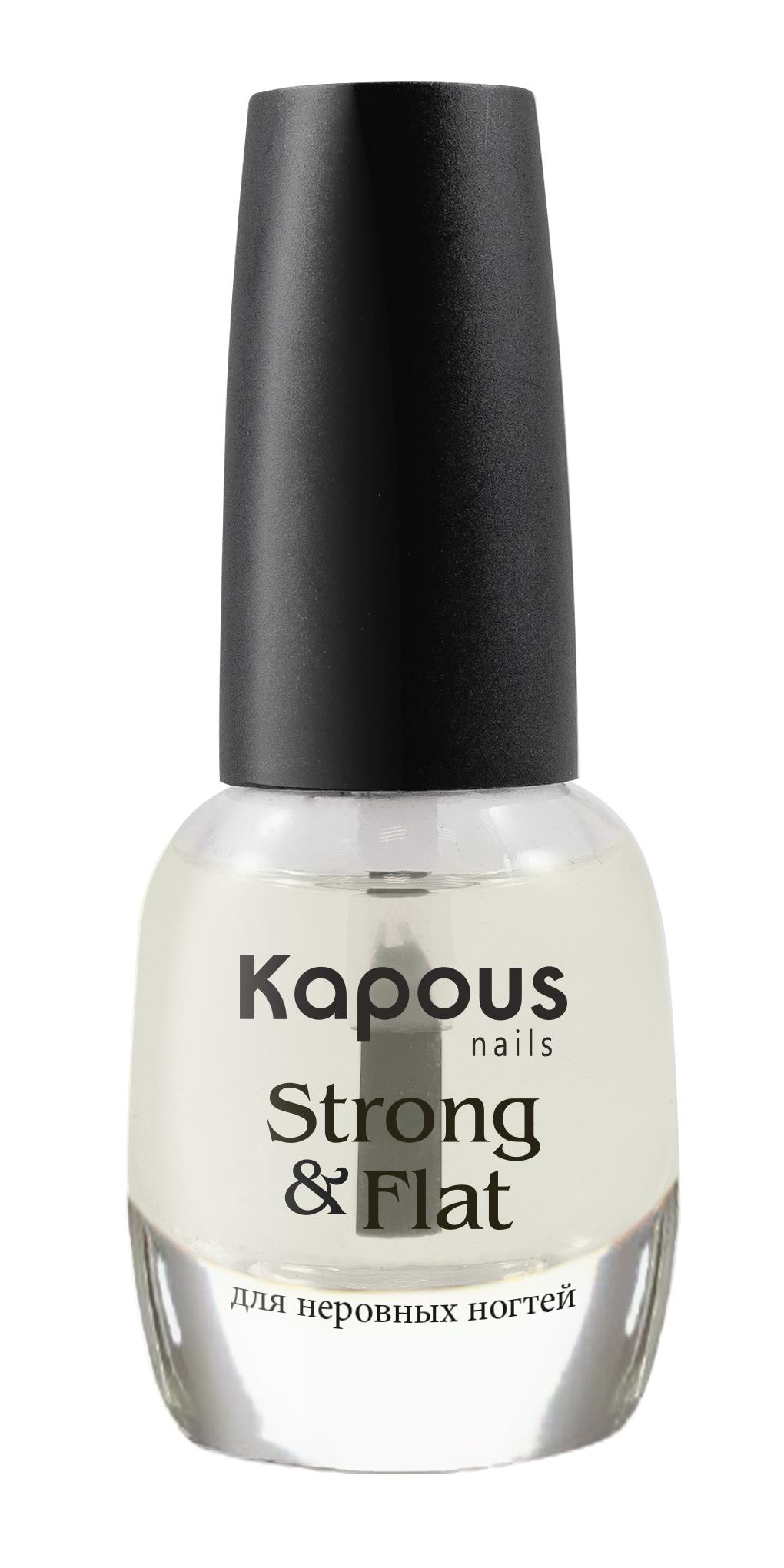Укрепляющее базовое покрытие Kapous Hilac StrongFlat 12 мл
