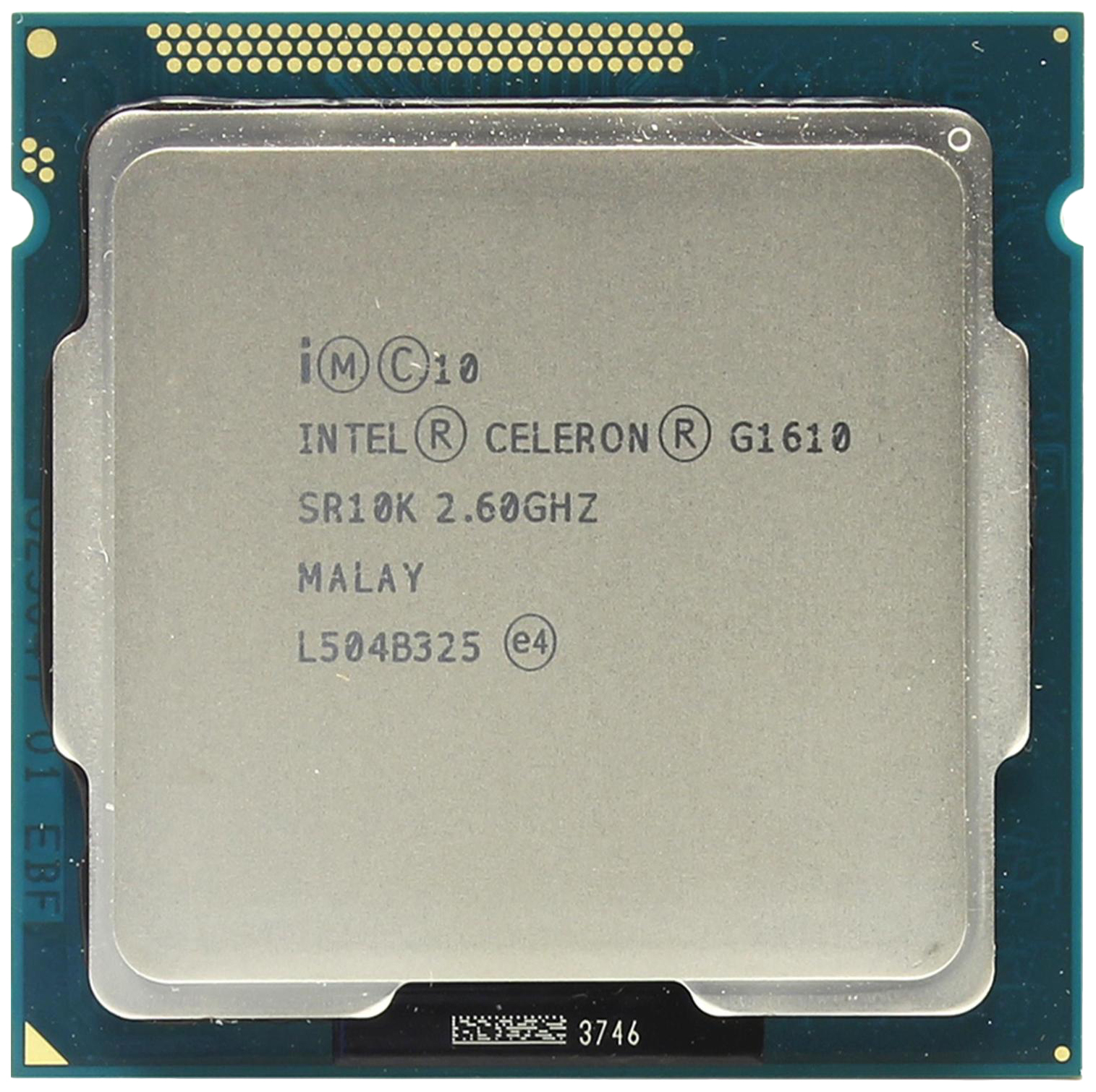 Процессор Intel Celeron G1610 OEM