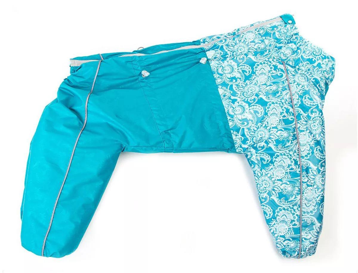Комбинезон для собак OSSO Fashion размер S мужской, голубой, длина спины 45 см
