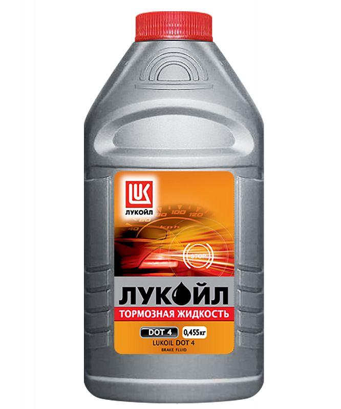 Тормозная жидкость ЛУКОЙЛ DOT-4, 460 мл