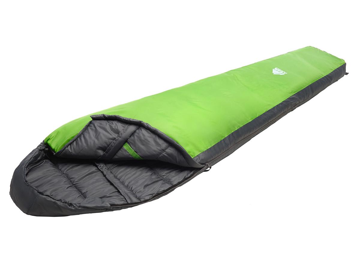 Спальный мешок Trek Planet Gotland зеленый, правый