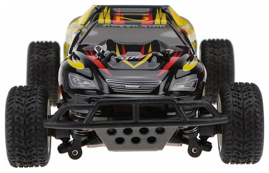 Радиоуправляемая машинка WL Toys Трагги Желтый/Черный