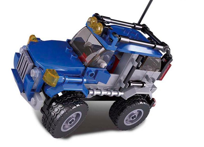 Купить SLUBAN Конструктор Автомобильный клуб, 146 деталей, в/к 23, 7*18, 9*4, 5 см JB900056, Конструкторы пластмассовые