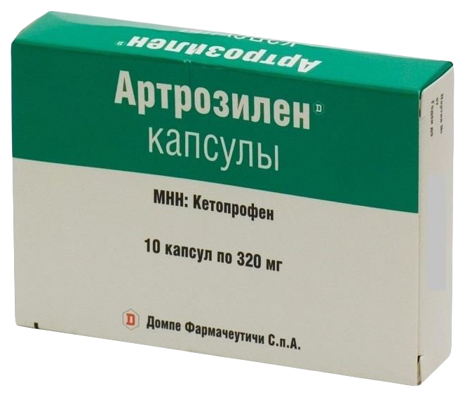 Купить Артрозилен капсулы 320 мг 10 шт., Valpharma