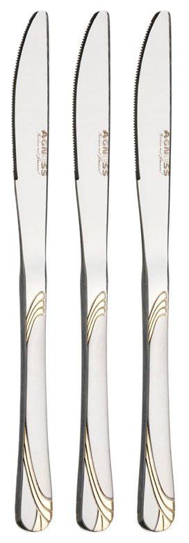 Набор столовых ножей Agness 230 мм