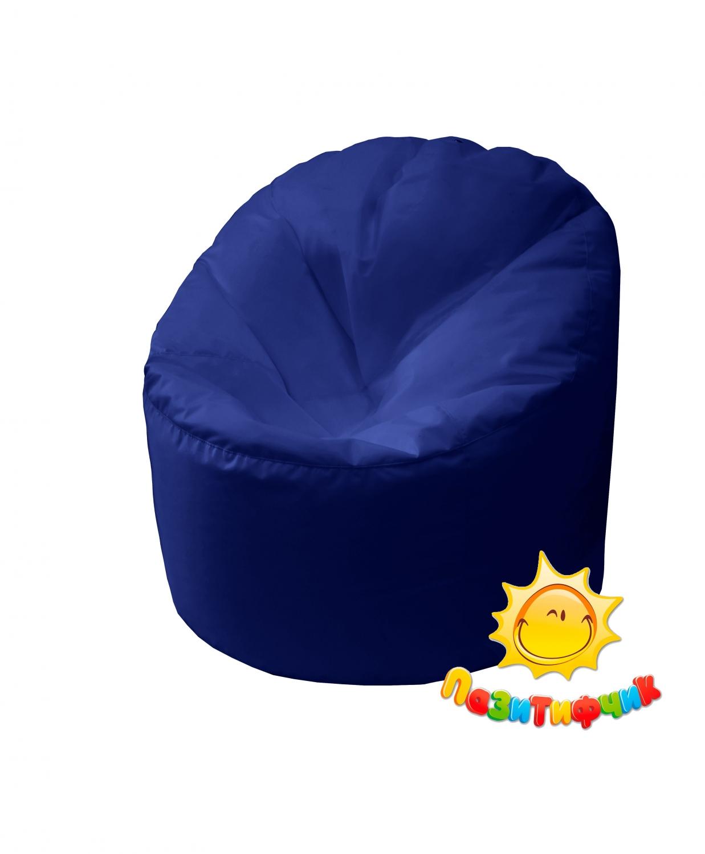 Кресло-мешок Pazitif Пенек Пазитифчик, размер L, оксфорд, синий фото
