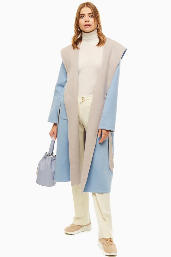 Пальто женское LA PINA синее