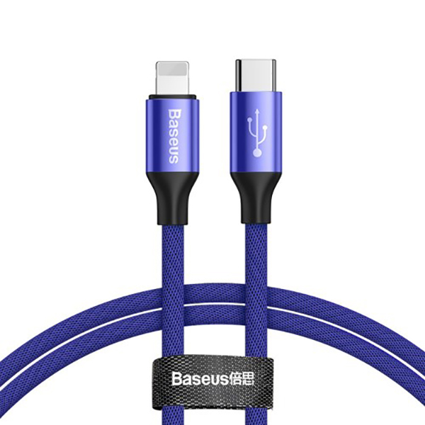 Кабель Baseus Yiven Type-C/Lightning Cable 1m Blue