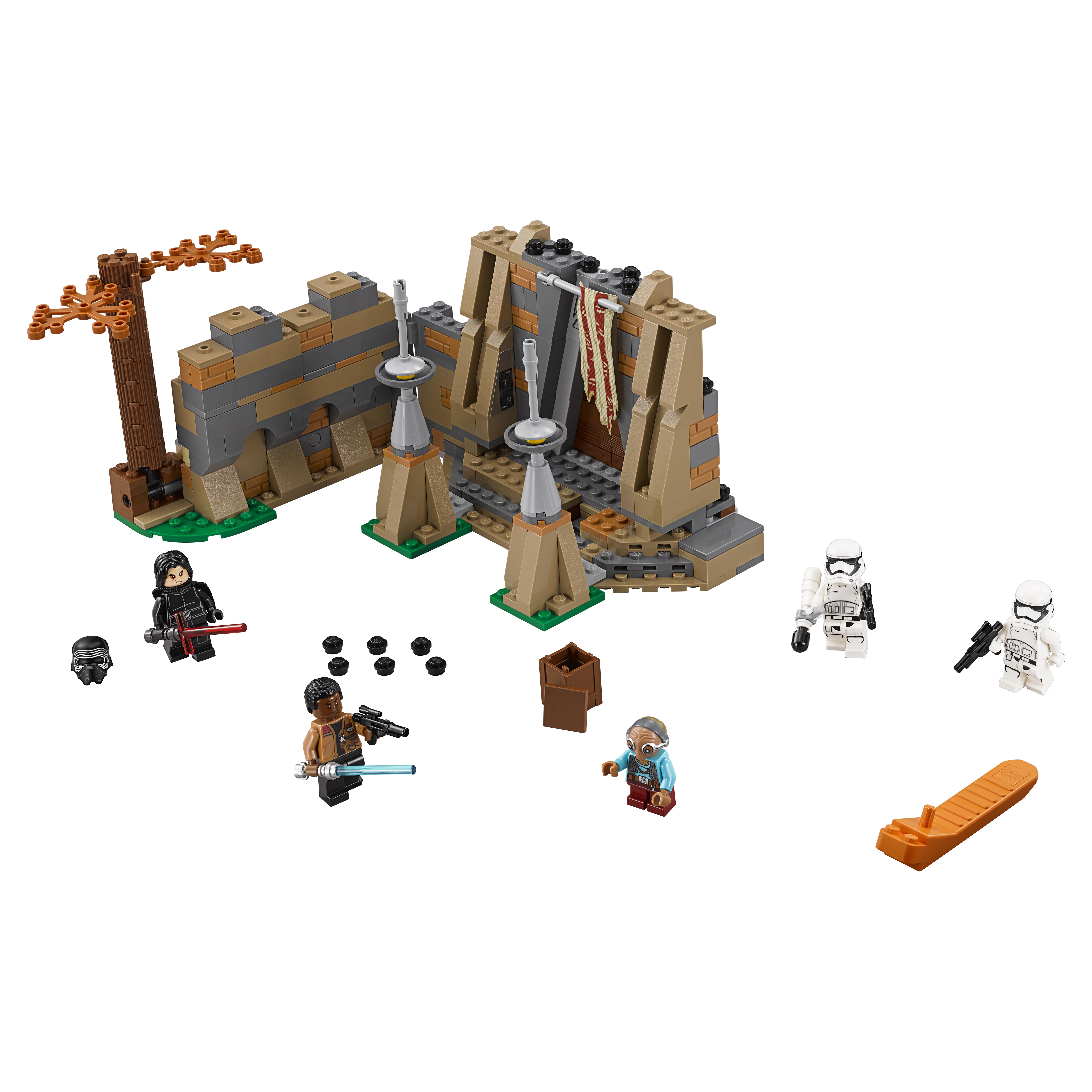 Конструктор LEGO Star Wars Битва планете Такодана (75139) конструктор lego star wars битва планете такодана 75139