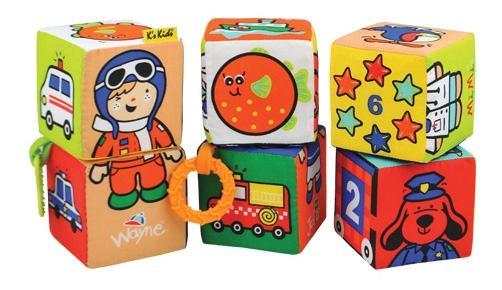 Купить Кубики-пазлы K's Kids KA622, Развивающие кубики