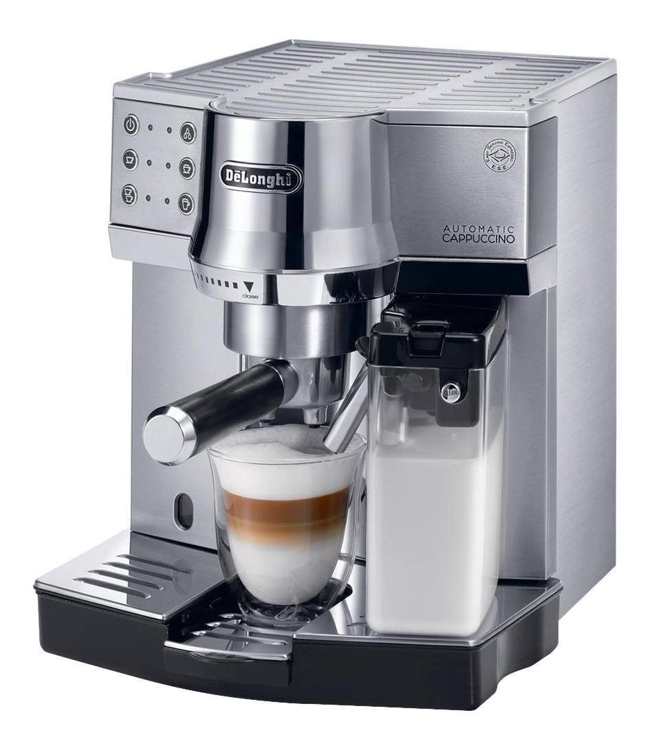 Рожковая кофеварка Delonghi EC 850.M Silver