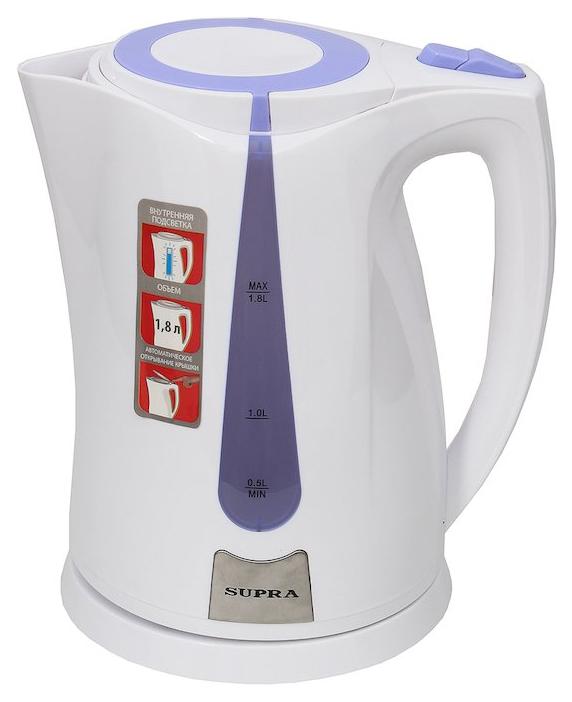 Чайник электрический Supra KES 1821 White/Purple