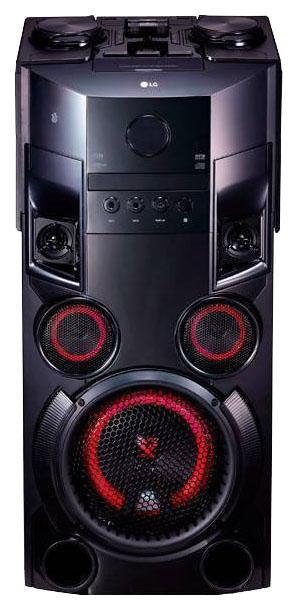 Музыкальный центр Mini LG OM6560 500Вт черный фото