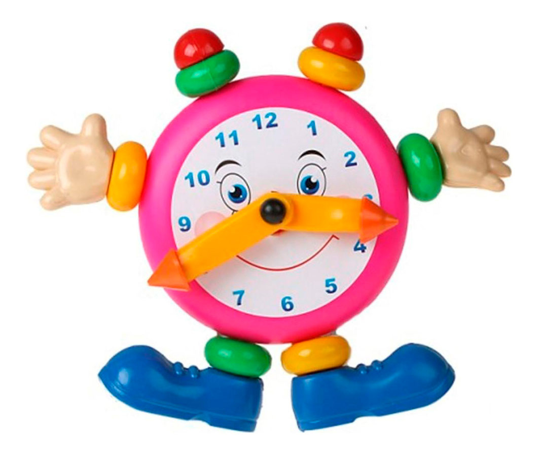 Игрушка развивающая Плэйдорадо Веселые часы фото