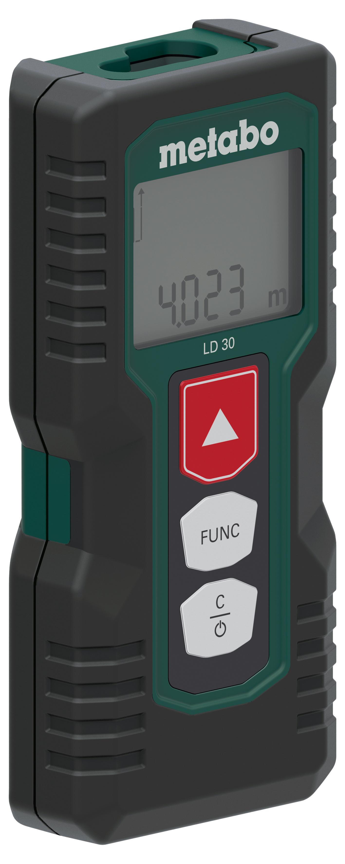 Дальномер лазерный Metabo LD30 зеленый (606162000)