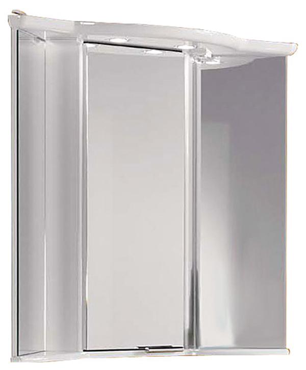 Шкаф-зеркало для ванной Акватон Альтаир 62, белый (1A042702AR010)
