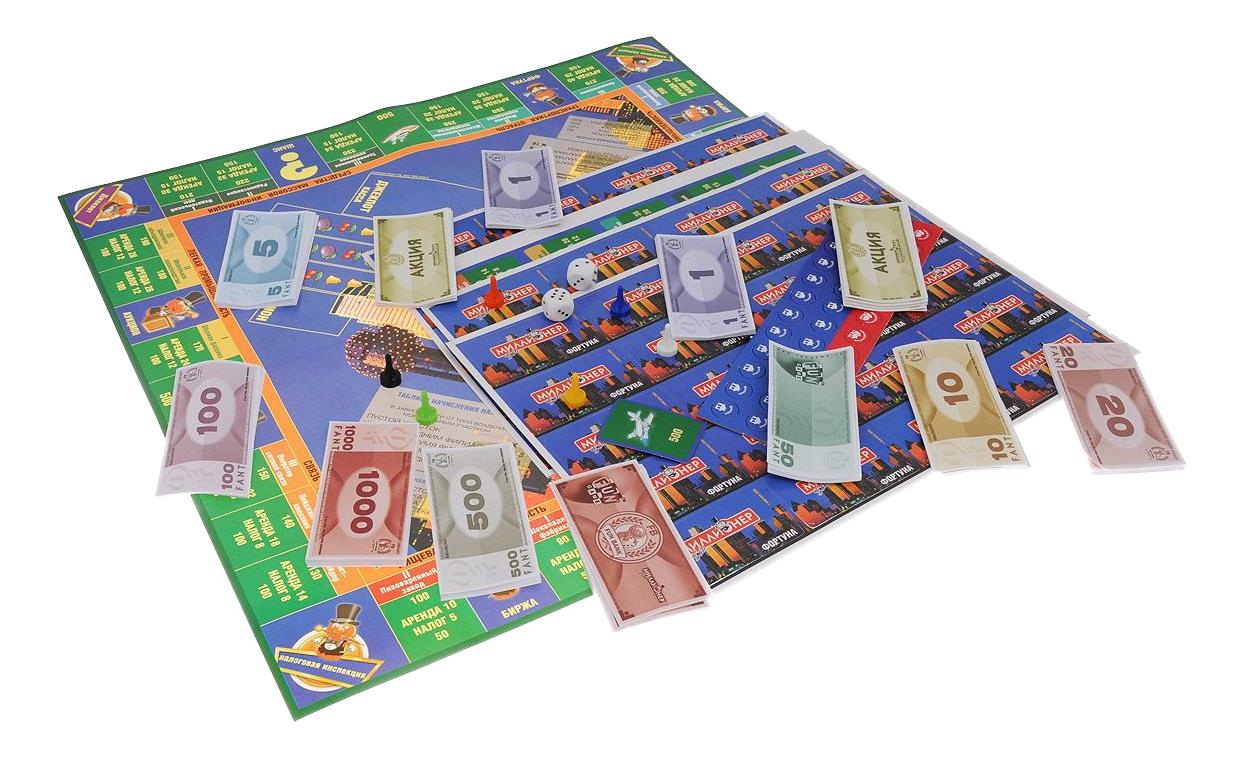 Семейная настольная игра Origami Миллионер элит